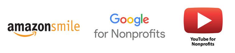 google grant amazonsmile logos